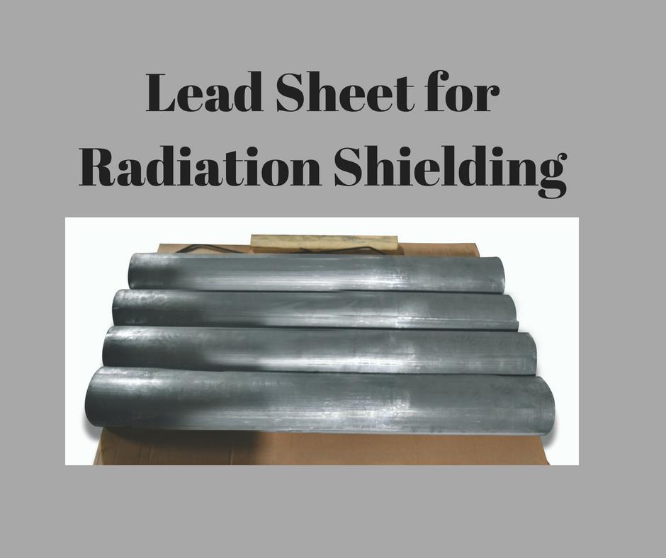 Lead Sheet for Radiation Shielding